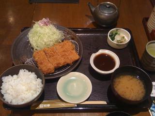 味噌ひれかつ御飯@とんかつ和幸