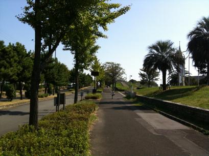 稲永公園内